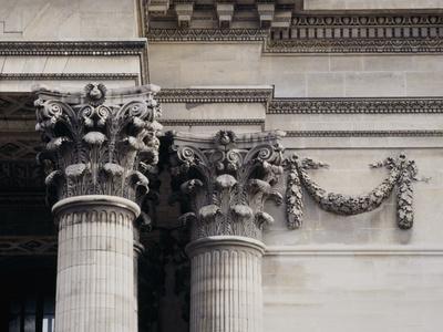 Corinthian Columns at Le Pantheon, Paris