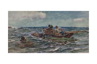 'The Lobster Catchers', 1886, (1935)