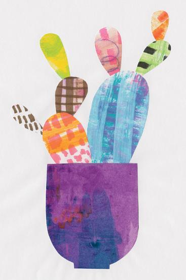 Collage Cactus III-Melissa Averinos-Art Print