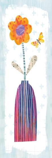 Collage Flower II Border-Melissa Averinos-Art Print