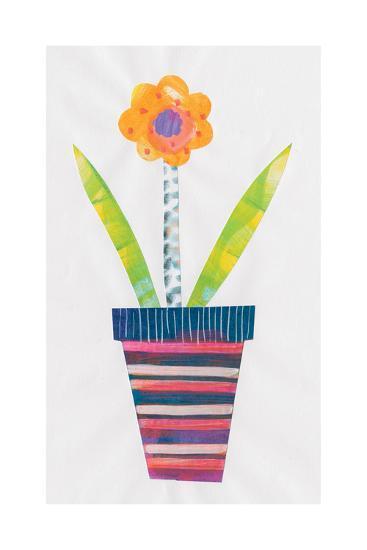 Collage Flower II-Melissa Averinos-Art Print