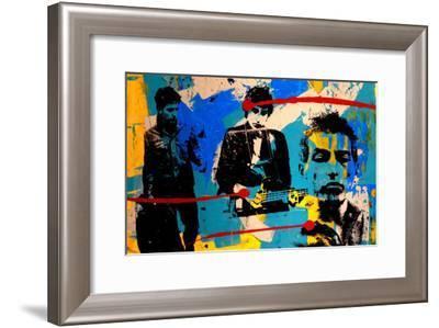 Collage I-Bobby Hill-Framed Art Print