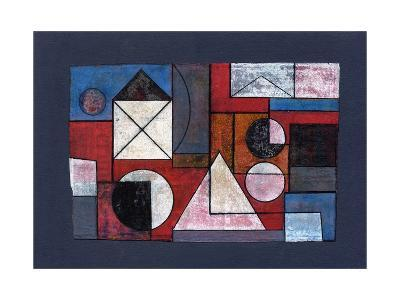 Collage Overlay, 2008-Peter McClure-Giclee Print
