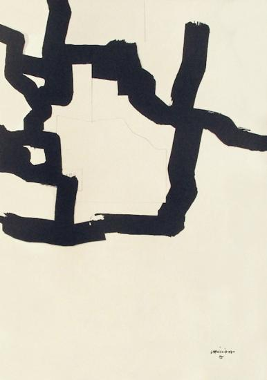 Collage-Eduardo Chillida-Collectable Print