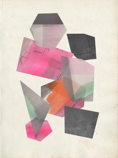 Collaged Shapes II-Jennifer Goldberger-Premium Giclee Print