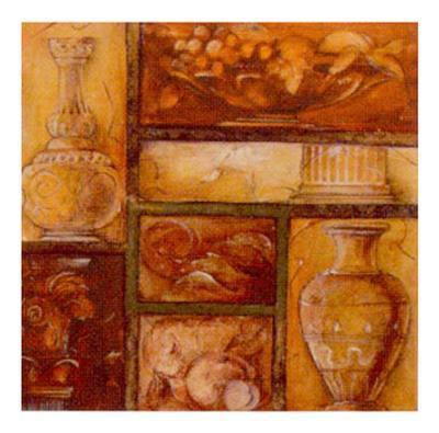 Collecting Antiques III-Elvira Ricci-Art Print