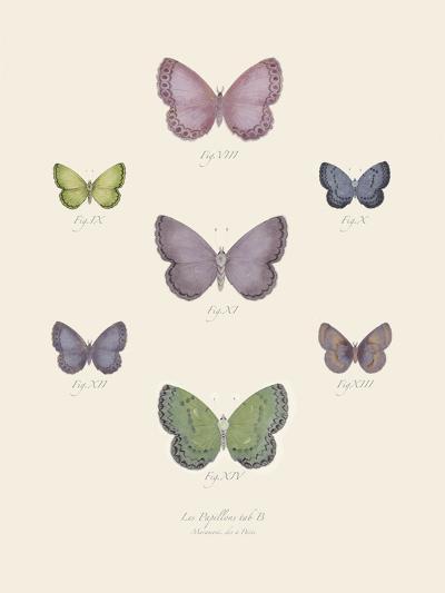 Collection de Papillons II-Maria Mendez-Art Print