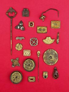 Collection of Anglo-Saxon and Celtic Jewellery Ranging from the 1st to the 7th Century Ad