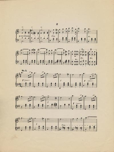 Collection of Illustrated American Sheet Music, Geography Sub Series--Art Print