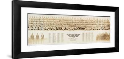 Collection of Photographs of African American Soldiers, 1940S--Framed Photographic Print