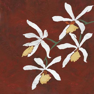 Collection Rouge - Floral-Linda Wood-Giclee Print