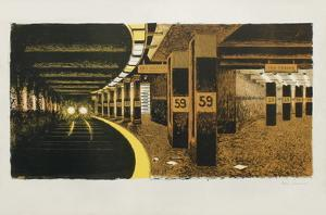 59 Th Street Subway by Colleen Browning