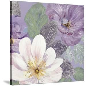 Plum and Lavender Garden 2 by Colleen Sarah