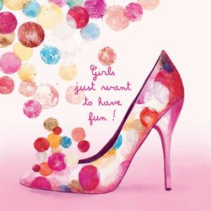 Pretty Bubble Shoe by Colleen Sarah