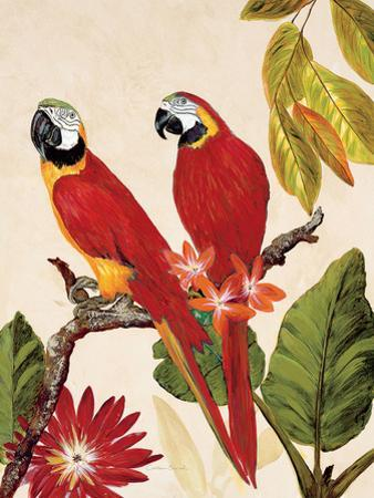 Tropical Red Pair by Colleen Sarah