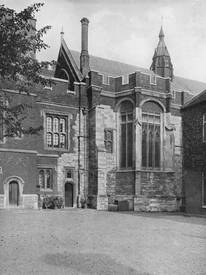 'College Hall, from Brewhouse Yard', 1926-Unknown-Photographic Print