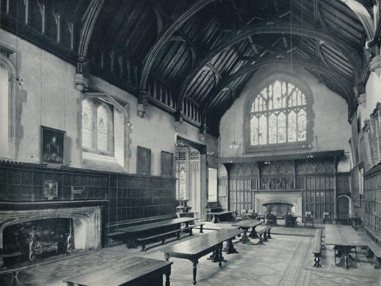 'College Hall, Looking West', 1926-Unknown-Photographic Print