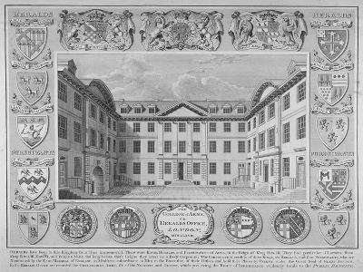 College of Arms, City of London, 1768-William Sherwin-Giclee Print