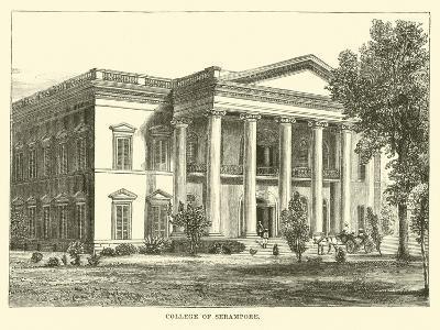 College of Serampore--Giclee Print