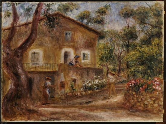 Collette's House at Cagne, 1912-Pierre-Auguste Renoir-Giclee Print