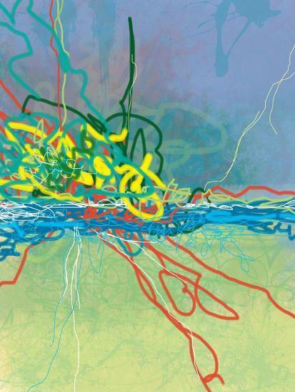 Colliding-Jan Weiss-Art Print