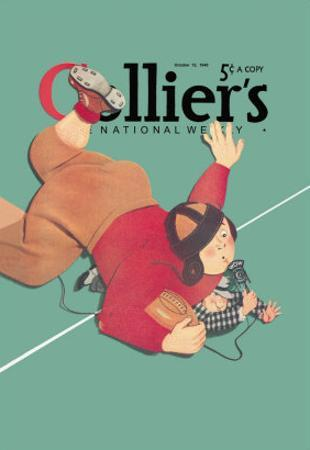 Collier's National Weekly, When the Press Get Tackled