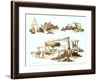 Collieries, C1805--Framed Giclee Print