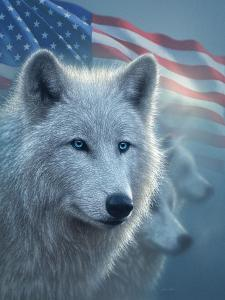 Arctic Wolves America by Collin Bogle