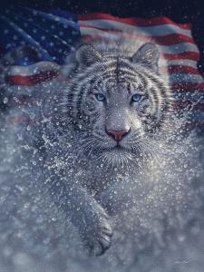 White Tiger America by Collin Bogle
