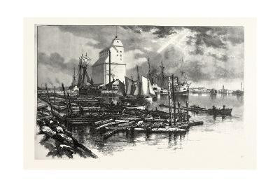 Collingwood Harbour, Canada, Nineteenth Century--Giclee Print