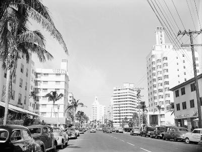 Collins Avenue from the South--Photographic Print