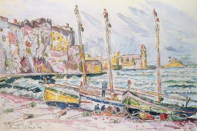 Collioure, 1929-Paul Signac-Giclee Print