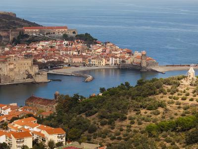 Collioure, Vermillion Coast Area, Pyrennes-Orientales Department, Languedoc-Roussillon, France-Walter Bibikow-Photographic Print