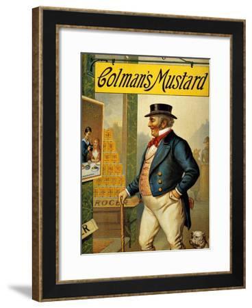 Colman's Mustard--Framed Giclee Print