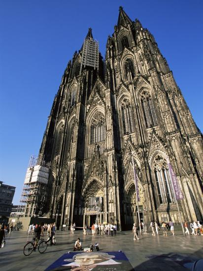 Cologne Cathedral, Cologne, Unesco World Heritage Site, North Rhine Westphalia, Germany-Yadid Levy-Photographic Print