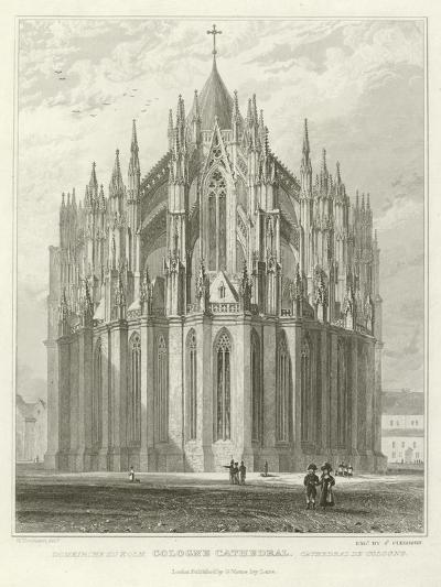 Cologne Cathedral-William Tombleson-Giclee Print