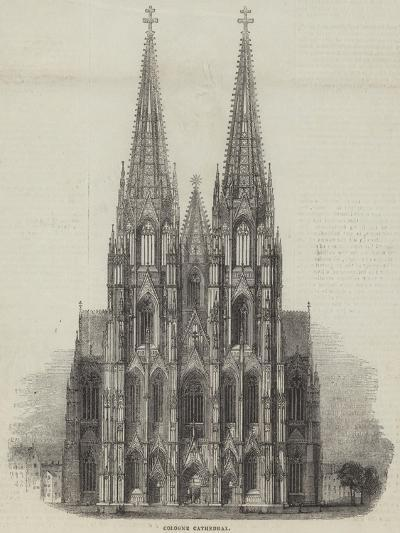 Cologne Cathedral--Giclee Print