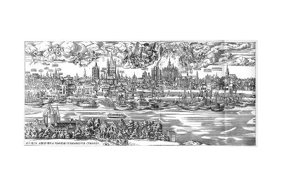 Cologne in 1530-Anton Woensam-Giclee Print