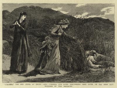 Colomba--Giclee Print