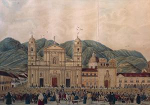Colombia, Bogota', Plaza Mayor