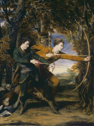 Colonel Acland and Lord Sydney: The Archers-Sir Joshua Reynolds-Giclee Print