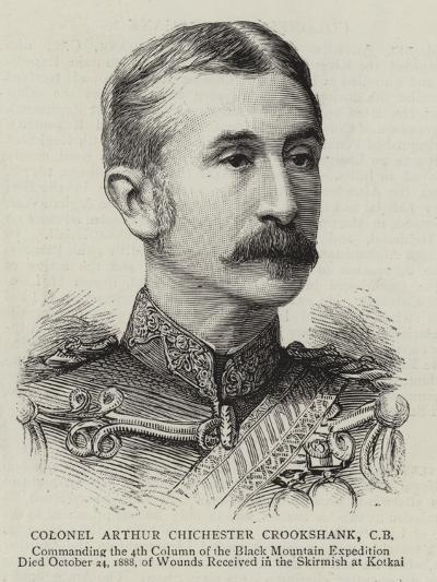 Colonel Arthur Chichester Crookshank--Giclee Print