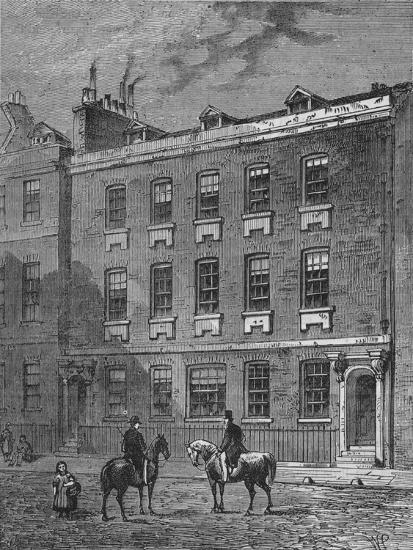 Colonel Blood's House, Westminster, London, c1870 (1878)-Unknown-Giclee Print