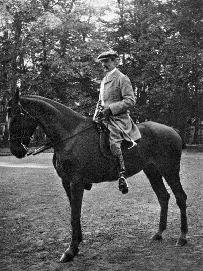 Colonel Brocklehurst at Bernsdorff, 1908--Giclee Print