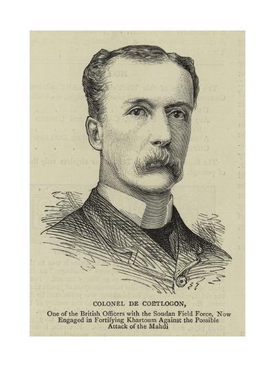 Colonel De Coetlogon--Giclee Print