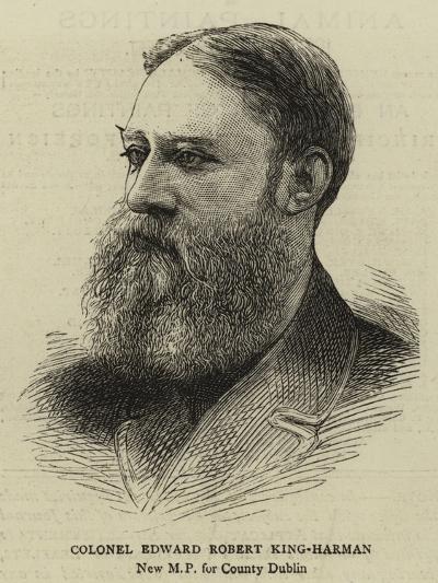 Colonel Edward Robert King-Harman--Giclee Print