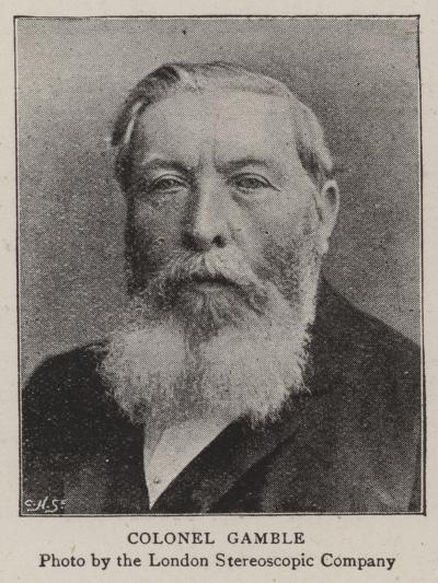Colonel Gamble--Giclee Print