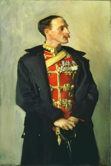 Colonel Ian Hamilton, CB, DSO-John Singer Sargent-Giclee Print