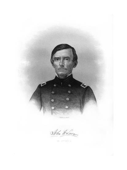 Colonel John W Lowe, American Soldier-John A O'Neill-Giclee Print