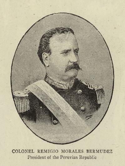 Colonel Remigio Morales Bermudez--Giclee Print